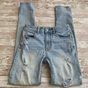 American Eagle Outfitters Hi Rise Distressed Jean